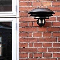 Dyberg Larsen DL31 Outdoor wall light black 31 cm