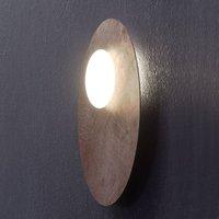Axolight Kwic LED plafondlamp, brons Ø48cm