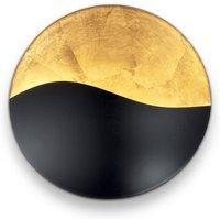 Sunrise wall light G9  black   gold    27 5 cm