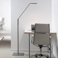 Luctra Floor Linear LED floor lamp aluminium