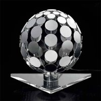 Sfera table lamp with transparent base  10 cm
