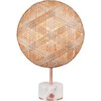 Forestier Chanpen S Hexagonal table copper natural