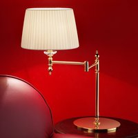 Grace gold plate brass table lamp