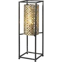 Petrolio table lamp black gold  height 47 cm