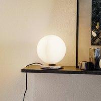 Menu TR Bulb table lamp 22 cm marble glossy opal