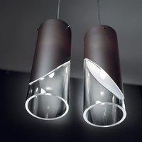 Designer hanging light CAPO CABANA  brown