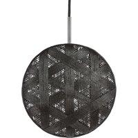 Forestier Chanpen M Hexagonal hanging lamp  black