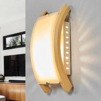 ADMIRAL Wall Lamp  E14  Light Wood