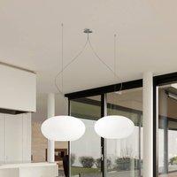 Design pendant light AIH 28 cm white matte