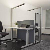 LED office floor lamp Jolinda  sensor and dimmer