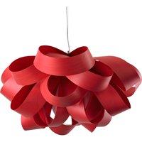 LZF Agatha Small hanging light  78 x 76 cm  red