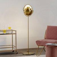 GUBI Multi Lite floor lamp brass glossy brass