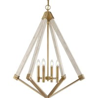 View Point chandelier with a diamond form    61 cm