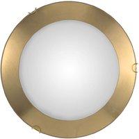 Image of Deckenlampe Moon Leaf, gold, Ø 40 cm