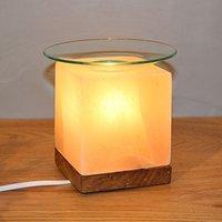 CUBE aroma salt lamp for atmospheric lighting