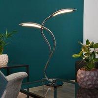Curved Hampton LED table lamp