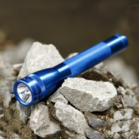Handy torch Mini Maglite 2AA cell  blue