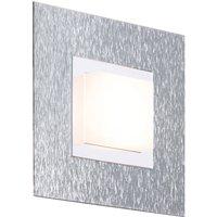 GROSSMANN Basic wall light  1 bulb  aluminium