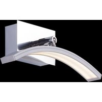 Arc shaped LED wall light Largo  aluminium finish