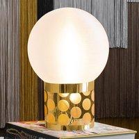 Slamp Atmosfera tafellamp, Ø 30 cm, goud