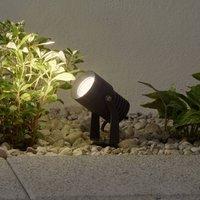 LED-Außenstrahler Jon mit beweglichem Leuchtenkopf