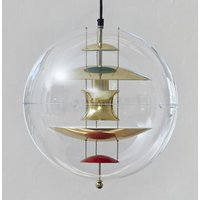 VERPAN VP Globe pendant light, brass