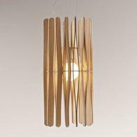 Fabbian Stick hanging light  cylindrical  33 cm
