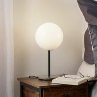 Menu TR Bulb table lamp 41 cm marble glossy opal