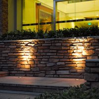 LED-Bodeneinbauleuchte schwenkbar, IP67, Edelstahl