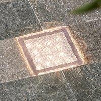 Arcchio Ewgenie LED-Bodeneinbauleuchte, 10 x 10 cm