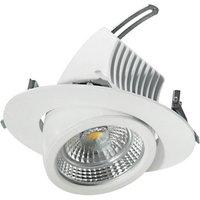 Pivotable LED downlight 20 cm  48 W
