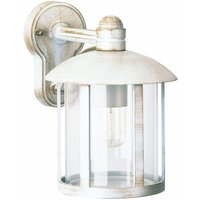 Delightful Geras outdoor wall light in white gold