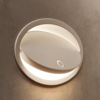 Grok Ely LED recessed wall lamp with touch dimmer