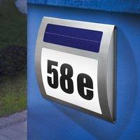Solar house number light Wave