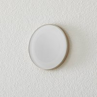 BEGA Accenta wall lamp round ring steel 160lm
