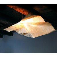 Knikerboker Crash gold leaf hanging light