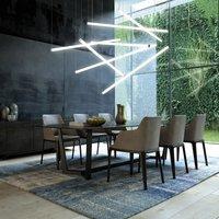 Pirgos LED hanging light  dimmable  length 100 cm