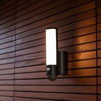 Secury'Light Elara LED-Außenwandleuchte Kamera+BWM