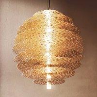 Gold plated Tresor hanging light gold