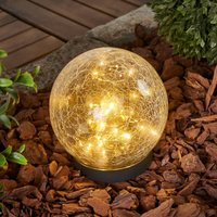 Glory - kugelförmige Solar-Tischleuchte