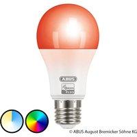 ABUS Z Wave E27 9 5 W LED bulb  RGBW