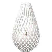 david trubridge Koura pendant lamp 75 cm white