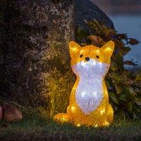 LED-Leuchtfigur Fuchs für außen