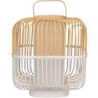 Forestier Bamboo Square M table lamp in white