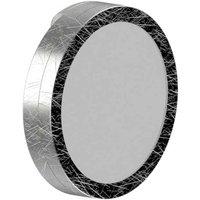 Lightme Aqua LED mirror light round silver leaf