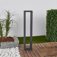 Jupp graphite grey LED path lamp  60 cm