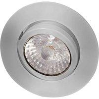 Rico - LED recessed ceiling spotlight 9 W, b.steel