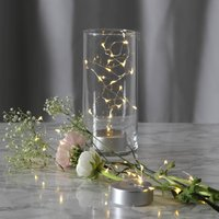 Dew Drops LED fairy lights with battery  100 cm