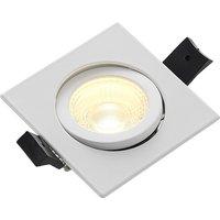 Image of Arcchio Dacio LED-Downlight eckig 36° IP65, 4W