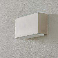 BEGA 23015 LED wall light 3 000K 18cm steel 1260lm